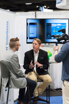"Ian O'Neil being interviewed by Ryan Favreau, Editorial Director of US Builders Review as a follow up to their ""Edititors Choice"" article on Electronic Tenant® Solutions."